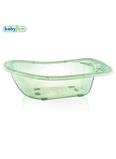 Baby Jem Babyjem Bebek Giderli Büyük Banyo Küveti  Yeşil